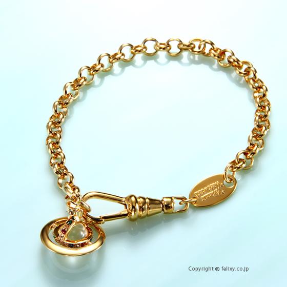 早い者勝ち ヴィヴィアンウエストウッド Vivienne Westwood Orb ブレスレット Petite Orb Petite Bracelet Bracelet 741467B/2, windyside:ef0f51ba --- canoncity.azurewebsites.net