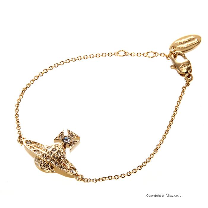 ヴィヴィアンウエストウッド Vivienne Westwood ブレスレット Minnie Bas Relief Bracelet 741655B/2