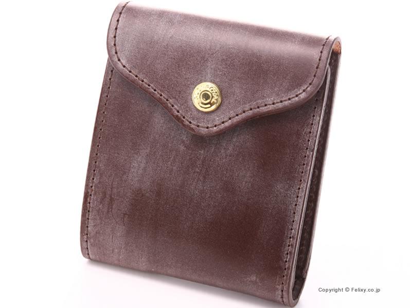 【GLENROYAL】グレンロイヤル 財布 小銭入れ付 二つ折り財布 03-5956 HAVANA【グレンロイヤル 財布】