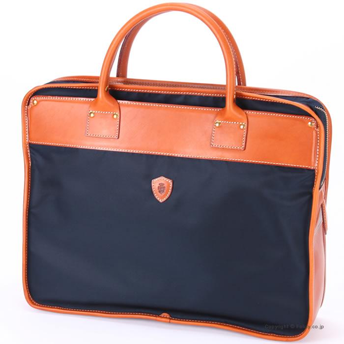 フェリージ ビジネスバッグ 1845-DS 0045 Felisi ブリーフケース ネイビー/ブラウン【フェリージ バッグ】