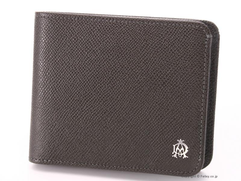 【dunhill】ダンヒル 財布 二つ折り 小銭入れ付き財布 Bourdon ボードン L2M132Z【ダンヒル 財布】