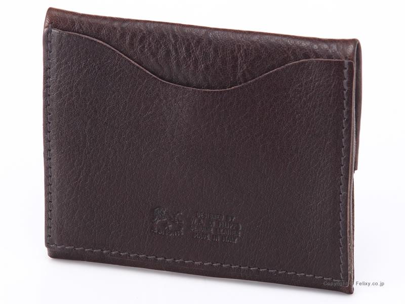イルビゾンテ 小銭入れ コインケース IL BISONTE C0933 P 455 こげ茶 レザー財布SqMpzUVG