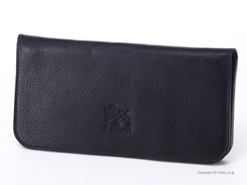 イルビゾンテ 財布 C0938 P 153 ブラック IL BISONTE 小銭入れ付き長財布【イルビゾンテ 財布】