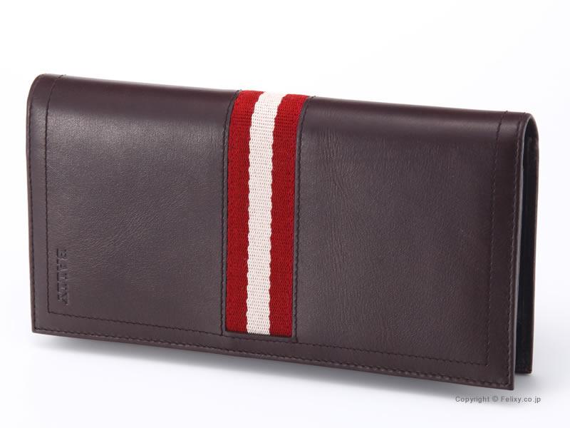 バリー 財布 BALLY 小銭入れ付き長財布 TALIRO 271 チョコレートブラウン【バリー メンズ 財布】