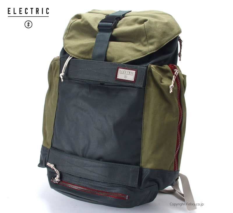 ELECTRIC エレクトリック バックパック SKATE BAY E16SA07【エレクトリック バッグ】【あす楽】≪ラッピング不可商品≫