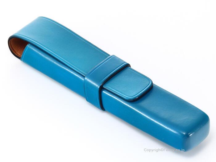 イルブセット ペンケース 1本用 Il bussetto 06-005 ライトブルー