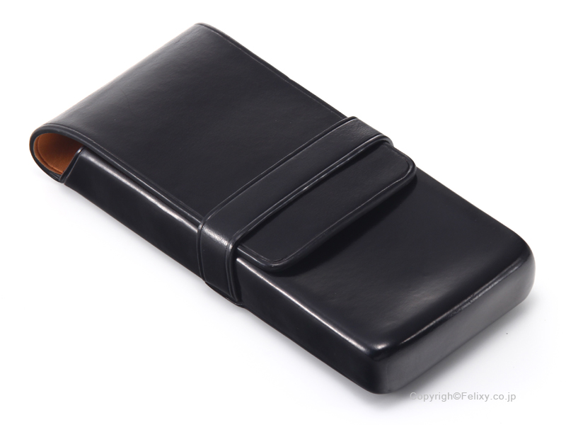 イルブセット ペンケース 3本用 Il bussetto 06-006 ブラック