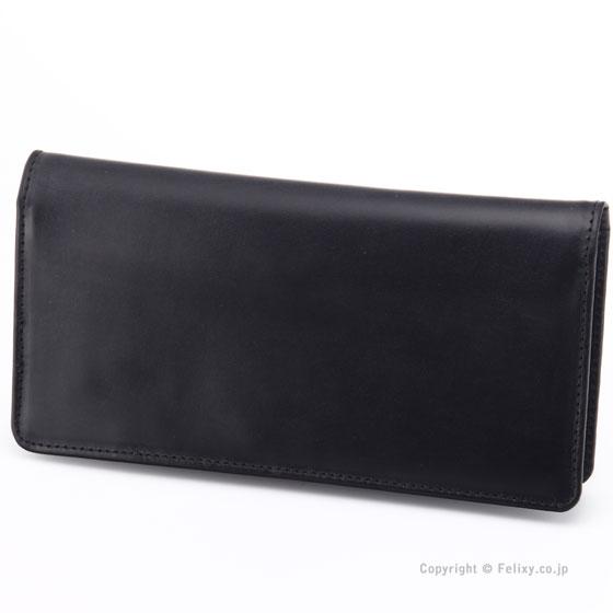 グレンロイヤル 長財布 GLENROYAL 03-2475 BLACK 小銭入れなし レザー財布