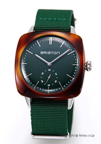 ブリストン BRISTON 腕時計 Clubmaster Vintage Smallsecond 17440.SA.TV.16.NBG 【あす楽】