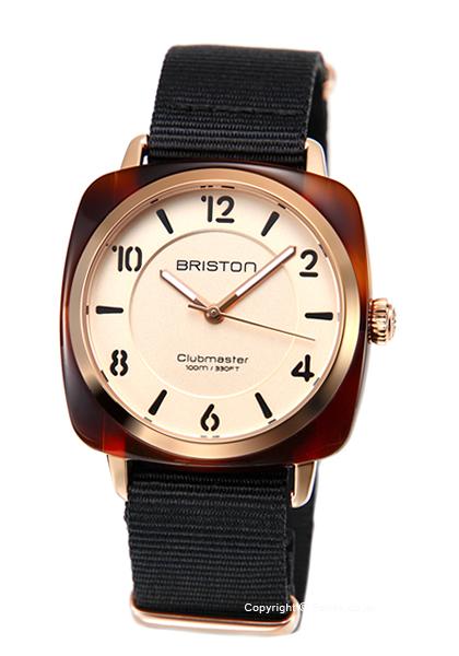 ブリストン 時計 BRISTON レディース 腕時計 Clubmaster Chic Acetate-HMS 18536.PRA.T.6.NB 【あす楽】