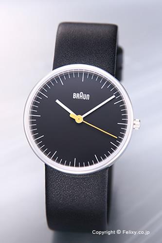 BRAUN / ブラウン 腕時計 BNH0021シリーズ ブラック/ブラックレザーストラップ レディース BN0021BKBKL 【ブラウン 時計】