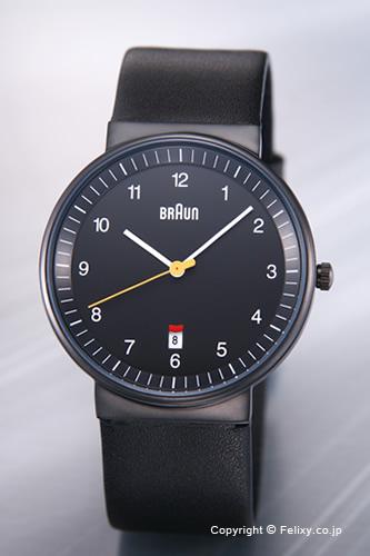 BRAUN / ブラウン 腕時計 BNH0032シリーズ オールブラック/ブラックレザーストラップ メンズ BN0032BKBKG 【ブラウン 時計】