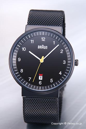 ブラウン 腕時計 BRAUN BNH0032シリーズ オールブラック/メッシュベルト メンズ BN0032BKBKMHG 【ブラウン 時計】