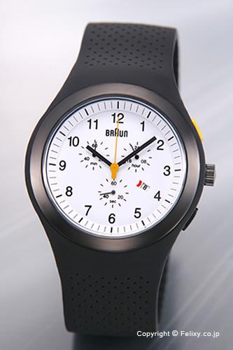 ブラウン 腕時計 BRAUN BNH0115シリーズ ホワイト メンズ BN0115WHBKBKG 【ブラウン 時計】