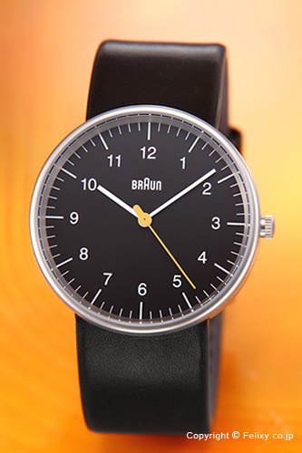 BRAUN ブラウン メンズ腕時計 BN0021シリーズ ブラック BN0021BKBKG