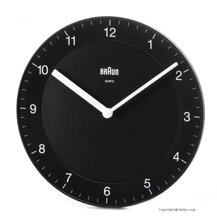 [並行輸入品] ブラウン 壁掛け時計 ウォールクロック BC06B BRAUN メーカー公式 あす楽 Clock Wall