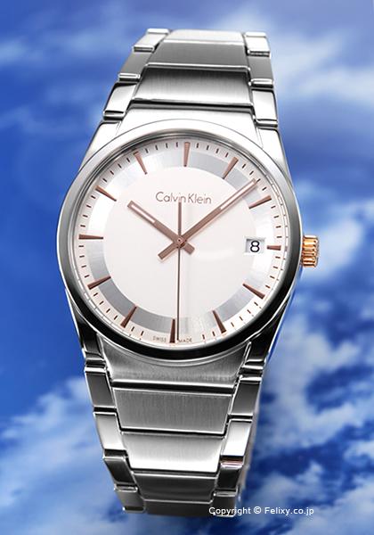 カルバンクライン 時計 メンズ Calvin Klein 腕時計 Ck Step K6K31B46