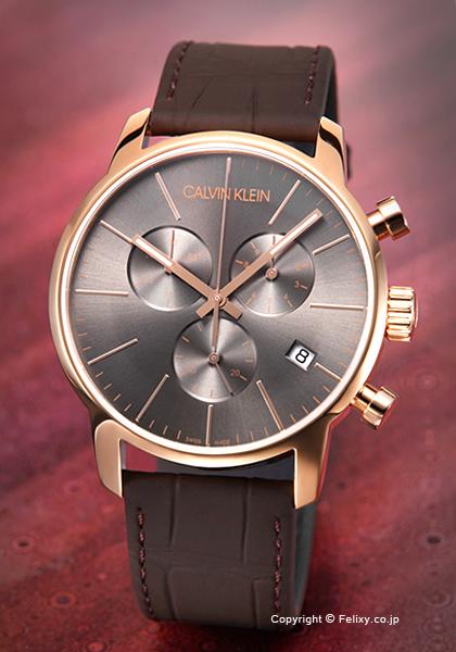 カルバンクライン 時計 メンズ Calvin Klein 腕時計 Ck City Chronograph K2G276G3 【あす楽】