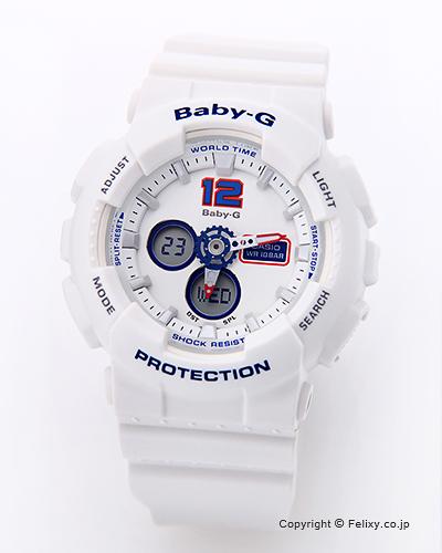カシオ 腕時計 BABY-G (ベイビージー) BA-120TR-7B(海外モデル)