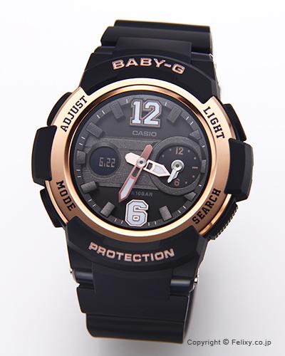 カシオ 腕時計 BABY-G (ベイビージー) BGA-210-1B (海外モデル)