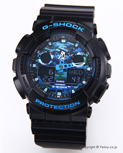 カシオ 腕時計 G-SHOCK (ジーショック) GA-100CB-1A (海外モデル) 【あす楽】