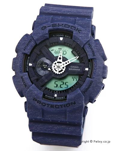 カシオ 腕時計 G-SHOCK (ジーショック) GA-110HT-2A (海外モデル) 【あす楽】