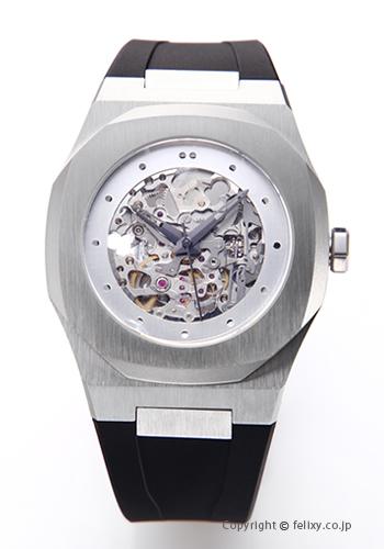 D1 MILANO D1 ミラノ 腕時計 Skelton Collection (スケルトン コレクション) シルバー A-SK01