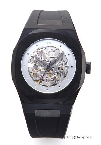 D1 MILANO D1 ミラノ 腕時計 Skelton Collection (スケルトン コレクション) ブラック A-SK03