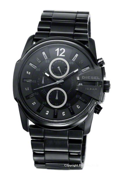 ディーゼル 時計 DIESEL 腕時計 メンズ PACKMAN Chronograph (パックマン クロノグラフ) ブラックアウト DZ4180