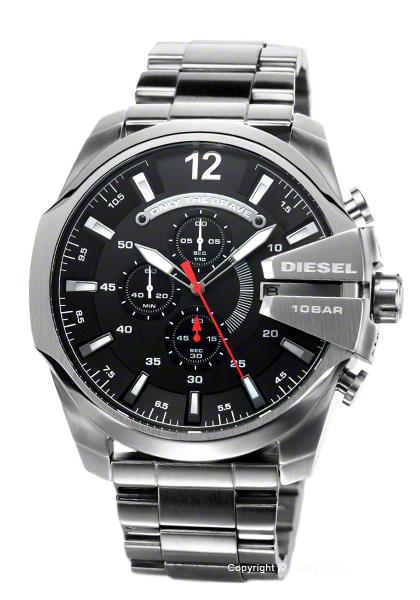 ディーゼル 時計 DIESEL 腕時計 Mega Chief Chronograph DZ4308 【あす楽】