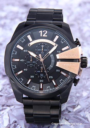 ディーゼル 時計 DIESEL 腕時計 メンズ Mega Chief Chronograph DZ4309 【あす楽】