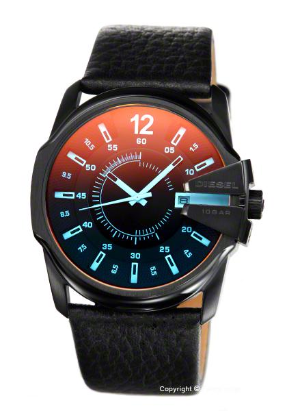 ディーゼル DIESEL DZ1657 腕時計 マスターチーフ ブラック 【あす楽】