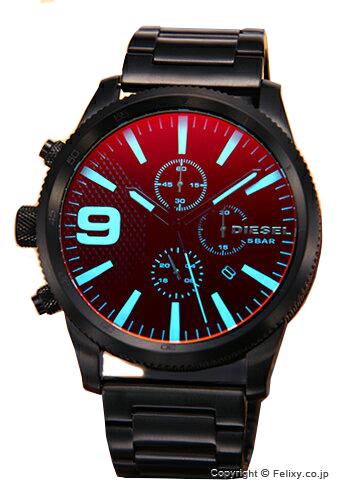 ディーゼル 時計 メンズ DIESEL 腕時計 Rasp Chrono ブラックポラライザー DZ4447 【あす楽】