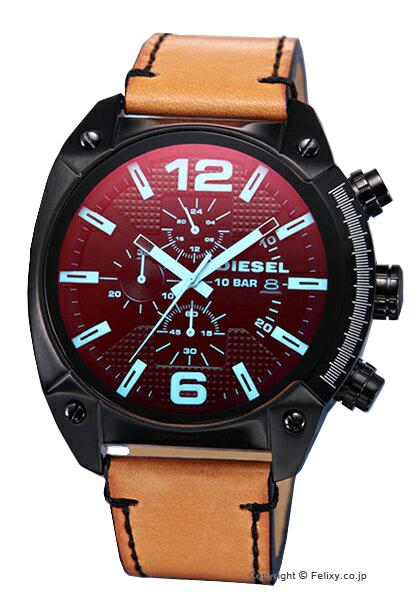 ディーゼル 時計 メンズ DIESEL 腕時計 Advanced Over-Flow Chronograph DZ4482 【あす楽】