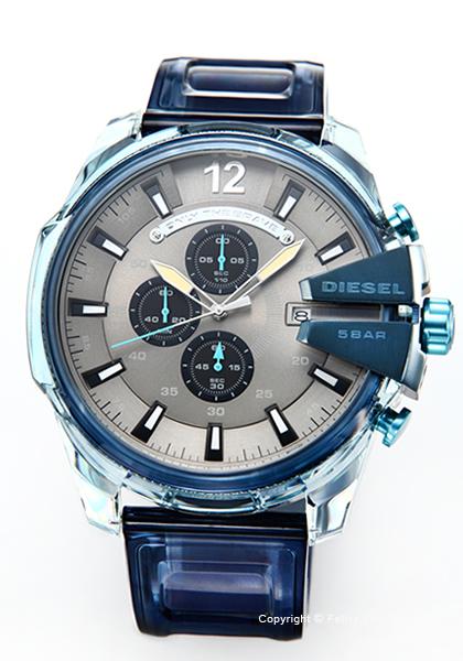 ディーゼル 時計 DIESEL メンズ 腕時計 Mega Chief Chronograph DZ4487 【あす楽】