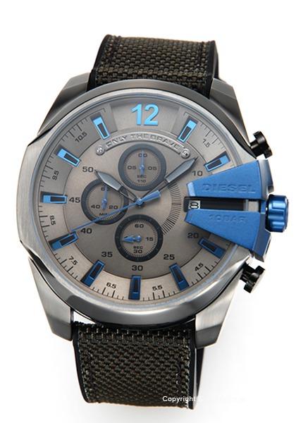 ディーゼル 時計 DIESEL メンズ 腕時計 Mega Chief Chronograph DZ4500 【あす楽】