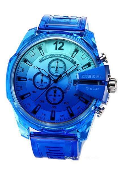 ディーゼル 登場大人気アイテム 時計 DZ4531 送料無料 新作モデル DIESEL Chief メンズ Mega 腕時計 セールSALE%OFF Chronograph あす楽