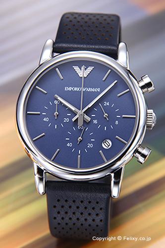 エンポリオアルマーニ 時計 メンズ EMPORIO ARMANI 腕時計 Classic Chronograph AR1736