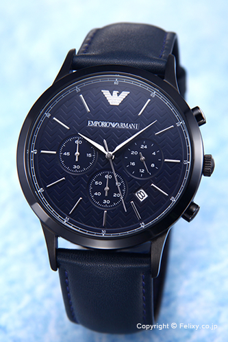 エンポリオアルマーニ 時計 メンズ EMPORIO ARMANI 腕時計 Renato Chronograph AR2481 【あす楽】
