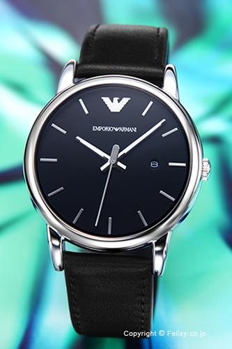 エンポリオアルマーニ 時計 メンズ EMPORIO ARMANI 腕時計 ルイージ ブラック AR1692 【あす楽】