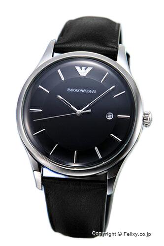 エンポリオアルマーニ 腕時計 EMPORIO ARMANI ラムダ ブラック AR11020 【あす楽】
