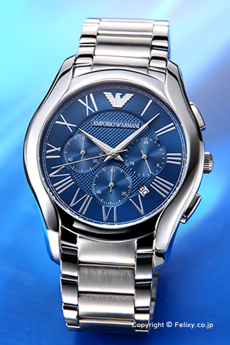 エンポリオアルマーニ 時計 メンズ EMPORIO ARMANI 腕時計 Valente Chronograph Collection AR11082 【あす楽】