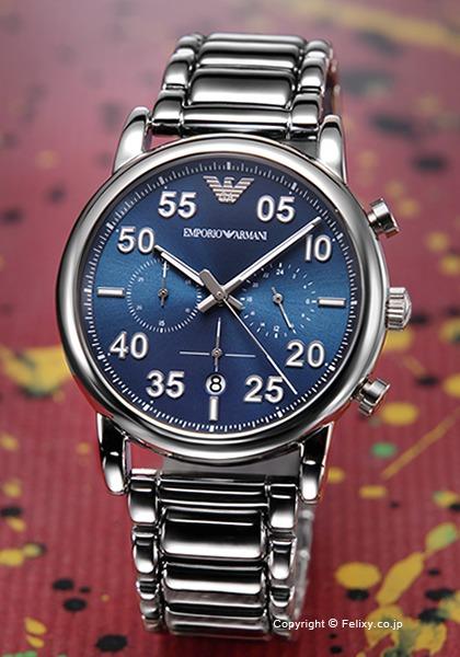 エンポリオアルマーニ 時計 メンズ EMPORIO ARMANI 腕時計 Luigi Chronograph AR11132 【あす楽】