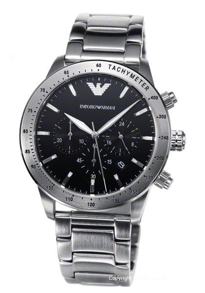 エンポリオアルマーニ 時計 EMPORIO ARMANI メンズ 腕時計 Mario Chronograph AR11241