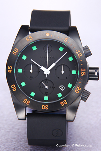 ELECTRIC エレクトリック メンズ腕時計 DW01 PU BLACK/ORANGE (EW0030030020) 【エレクトリック 時計】【あす楽】