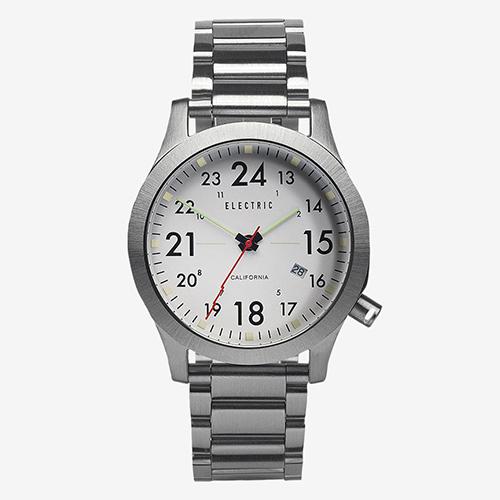 ELECTRIC エレクトリック 腕時計 FW01 SS WHITE 【エレクトリック 時計】