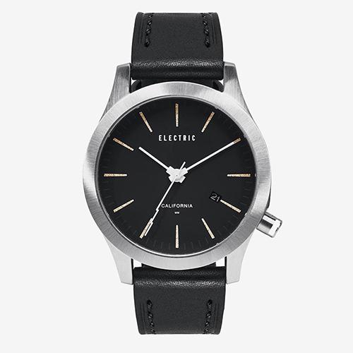 ELECTRIC エレクトリック メンズ腕時計 FW03 LEATHER BLACK/CREAM 【エレクトリック 時計】