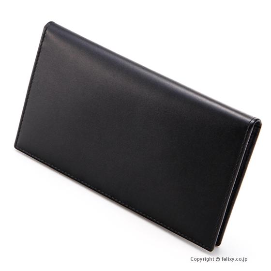 エッティンガー ETTINGER メンズ財布 長札入れ ST806AJR BLACK×PURPLE