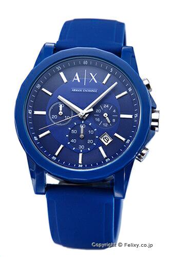 アルマーニ エクスチェンジ 時計 Armani Exchange 腕時計 オールネイビー AX1327