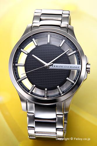 アルマーニ エクスチェンジ 時計 Armani Exchange 腕時計 メンズ スケルトン(ブラック) AX2179